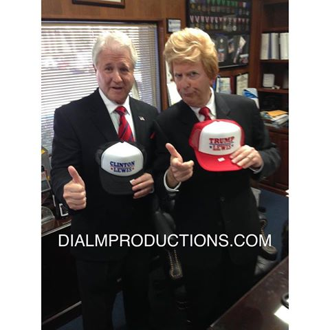 Donald Trump and Bill Clinton Lookalikes DialM
