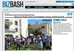 BizBash Team Building event Los Angeles Las Vegas DialM.com