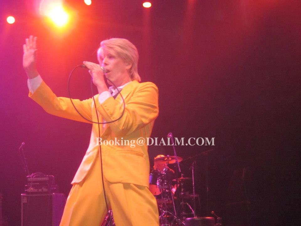 David Bowie Look Alike Impersonator Dial M Productions