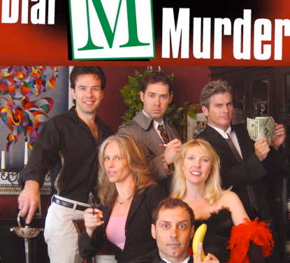 DIAL M Murder Mystery cast