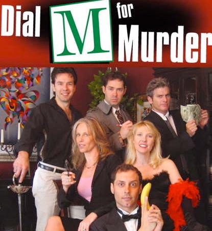 DIAL M Murder Mystery Team Building