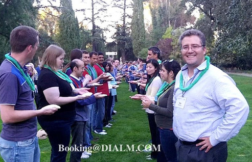 Picnic Games Cisco Team Buidling with Di