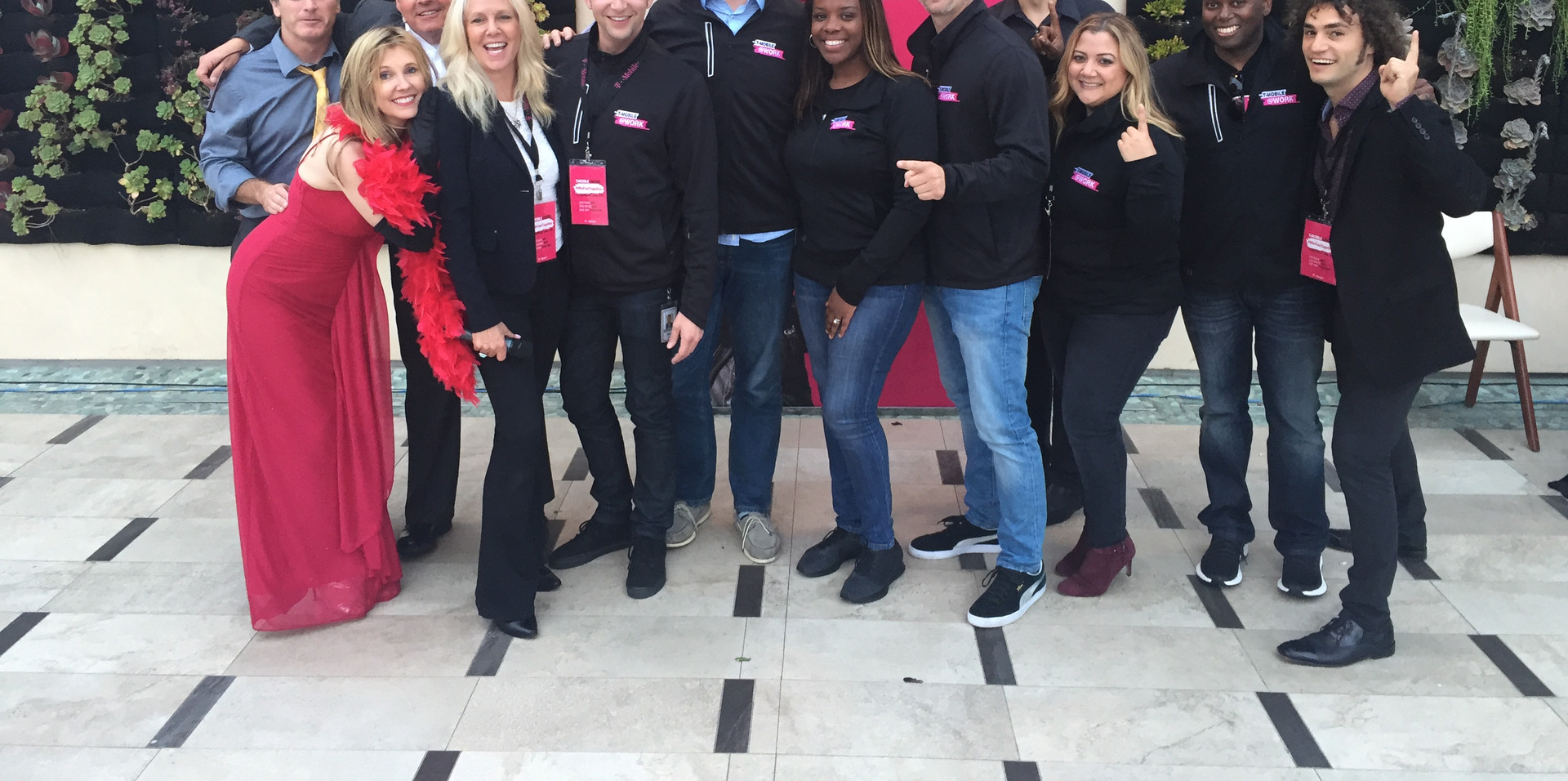 T-Mobile Winning Team and Dial M Murder