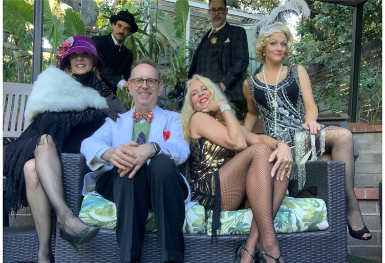 1920's Hollywood Murder Mystery by Dial