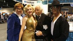Lookalikes Austin Powers Marilyn Monroe Albert Einstein Michael Jackson