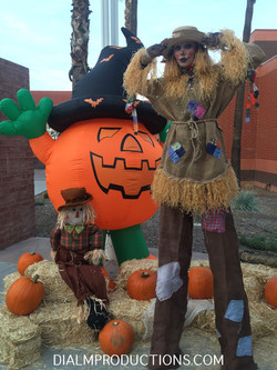 Scarecrow Stilt Walker Dial M