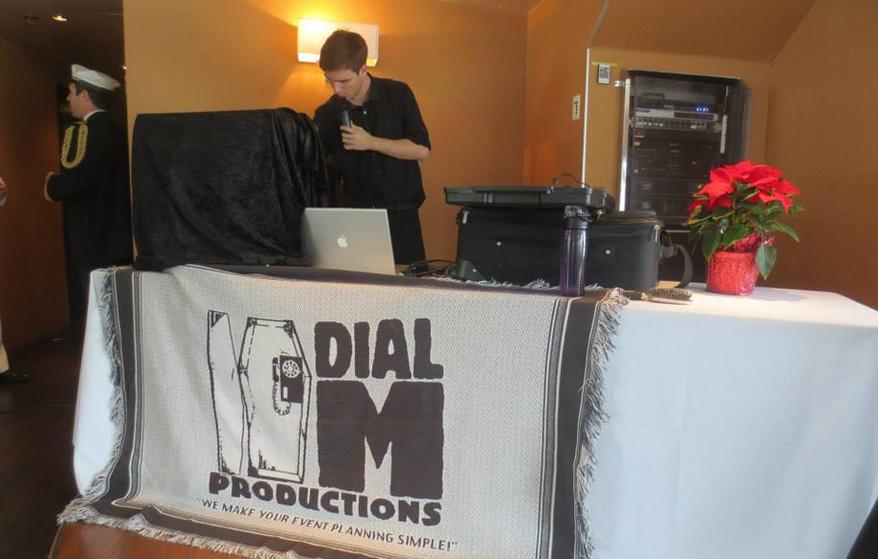 Murder Mystery Sound Engineer Dial M