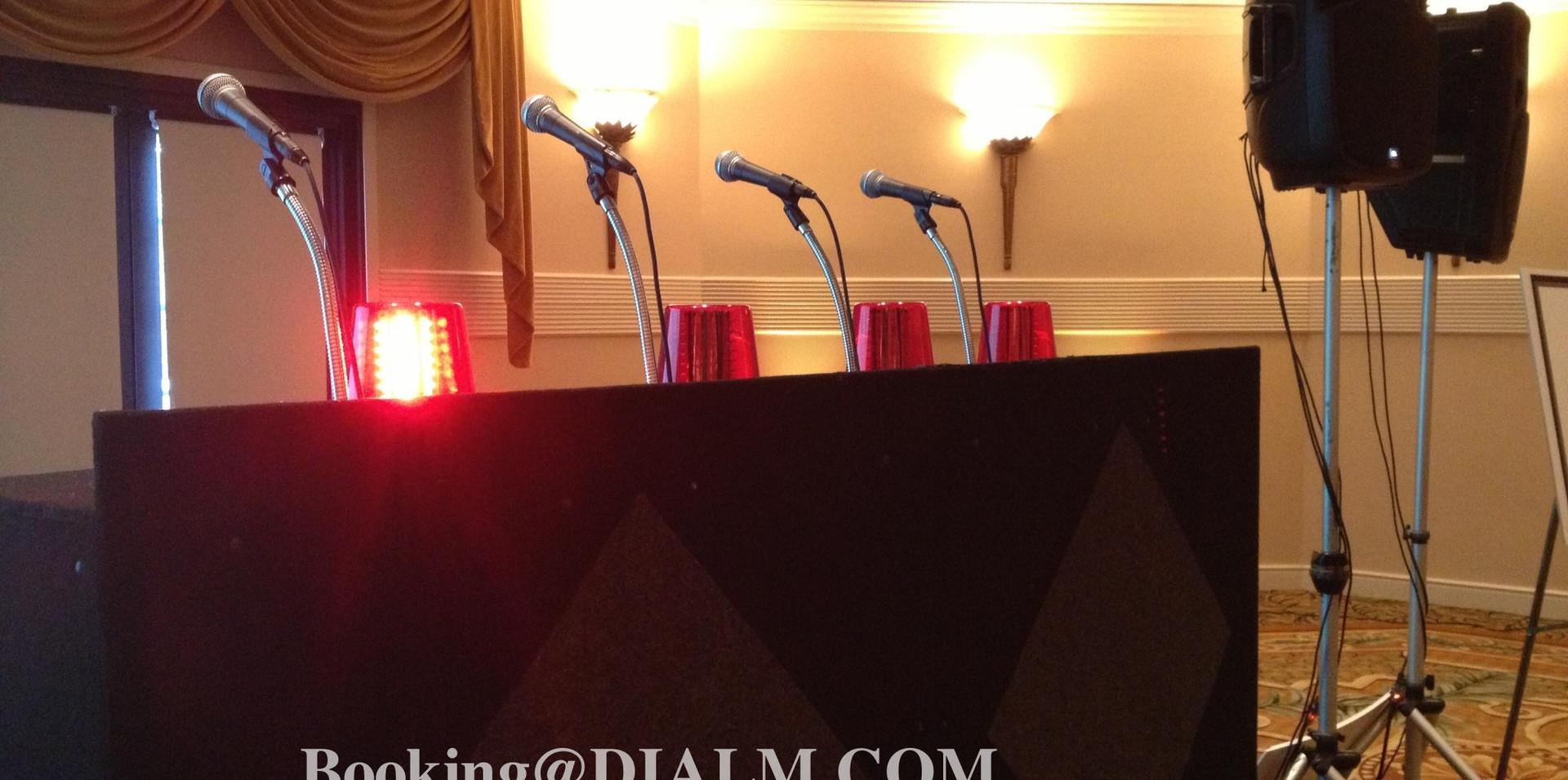 Game Show Lights Trivia Team Building Dial M