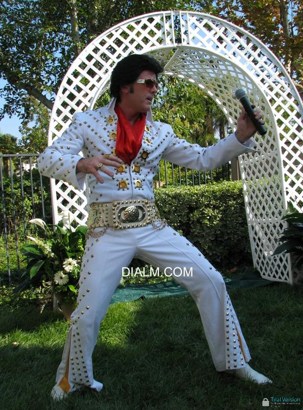 Elvis Impersonator L A L by dialm.com