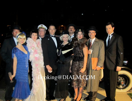1920's Gatsby Hollywood Murder Mystery
