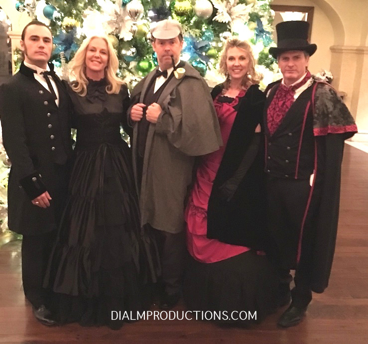 Sherlock Victorian Murder Mystery - Murder on the Orient Express DialM Productions