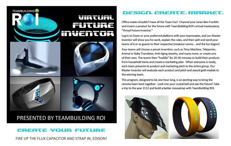 VIRTUAL Future Inventor Team Building Ev