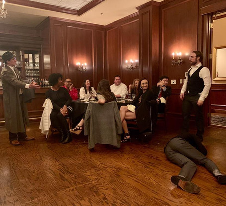 Dial M Murder Mystery Maggiano's pre-val