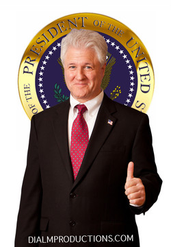 Bill Clinton Lookalike #DIALM