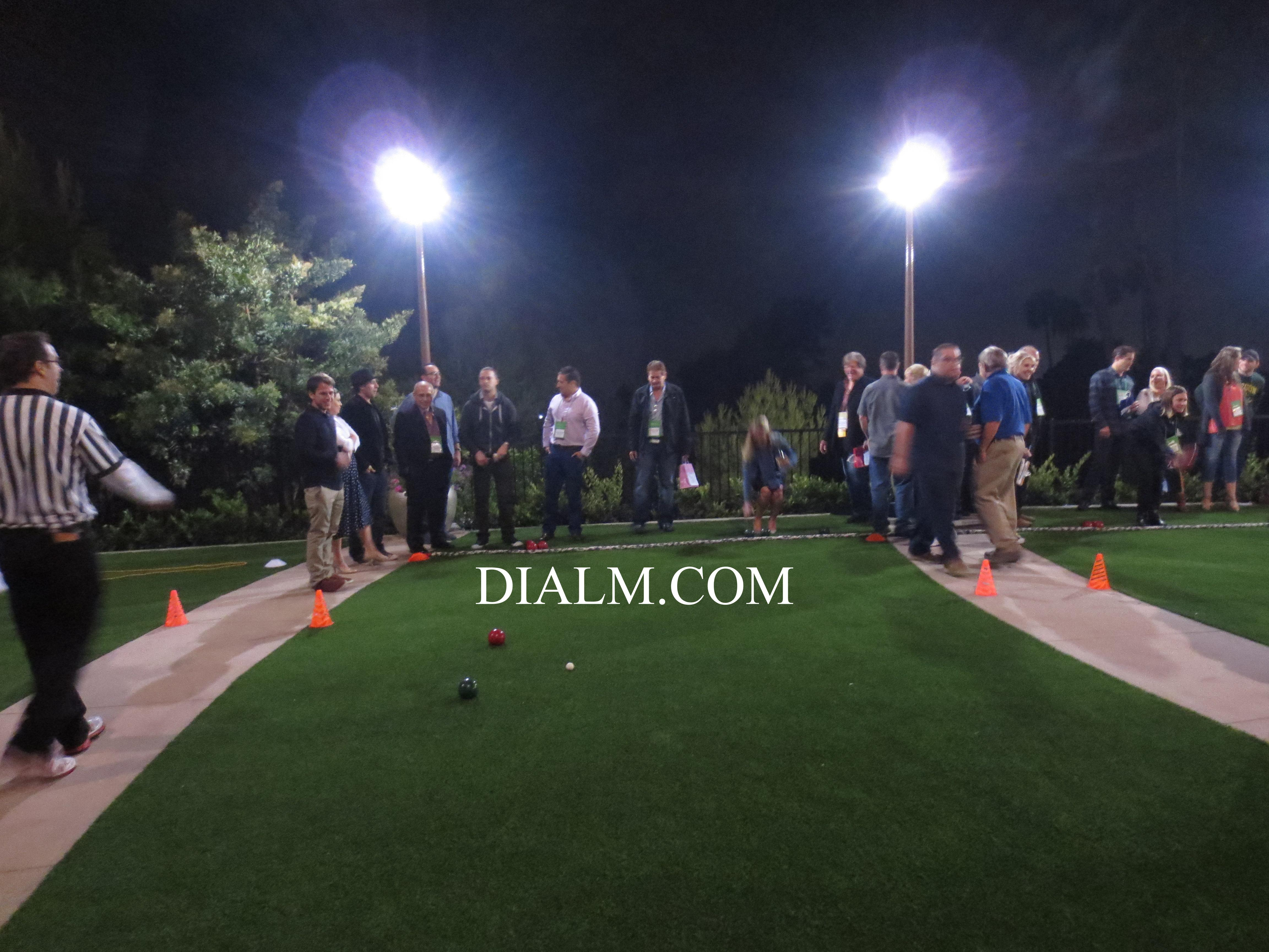 Bocce Ball Team Building Event #DIALM