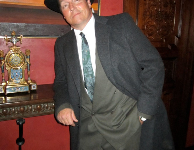 Fred Kelsey Detective 1920s Murder Mystery