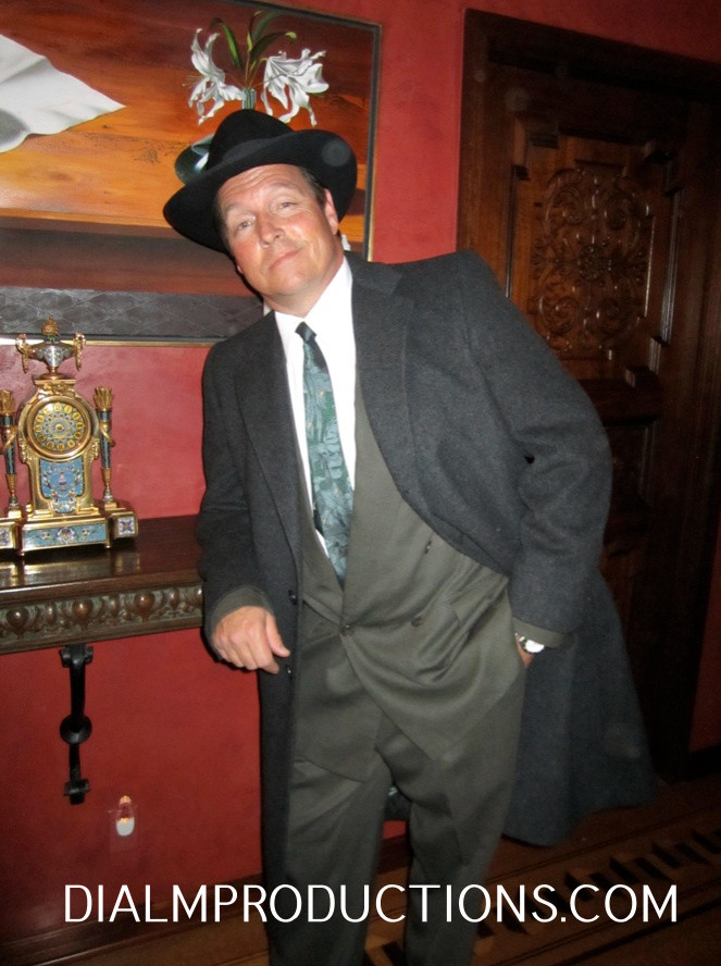 Fred Kelsey Detective 1920's Murder Mystery