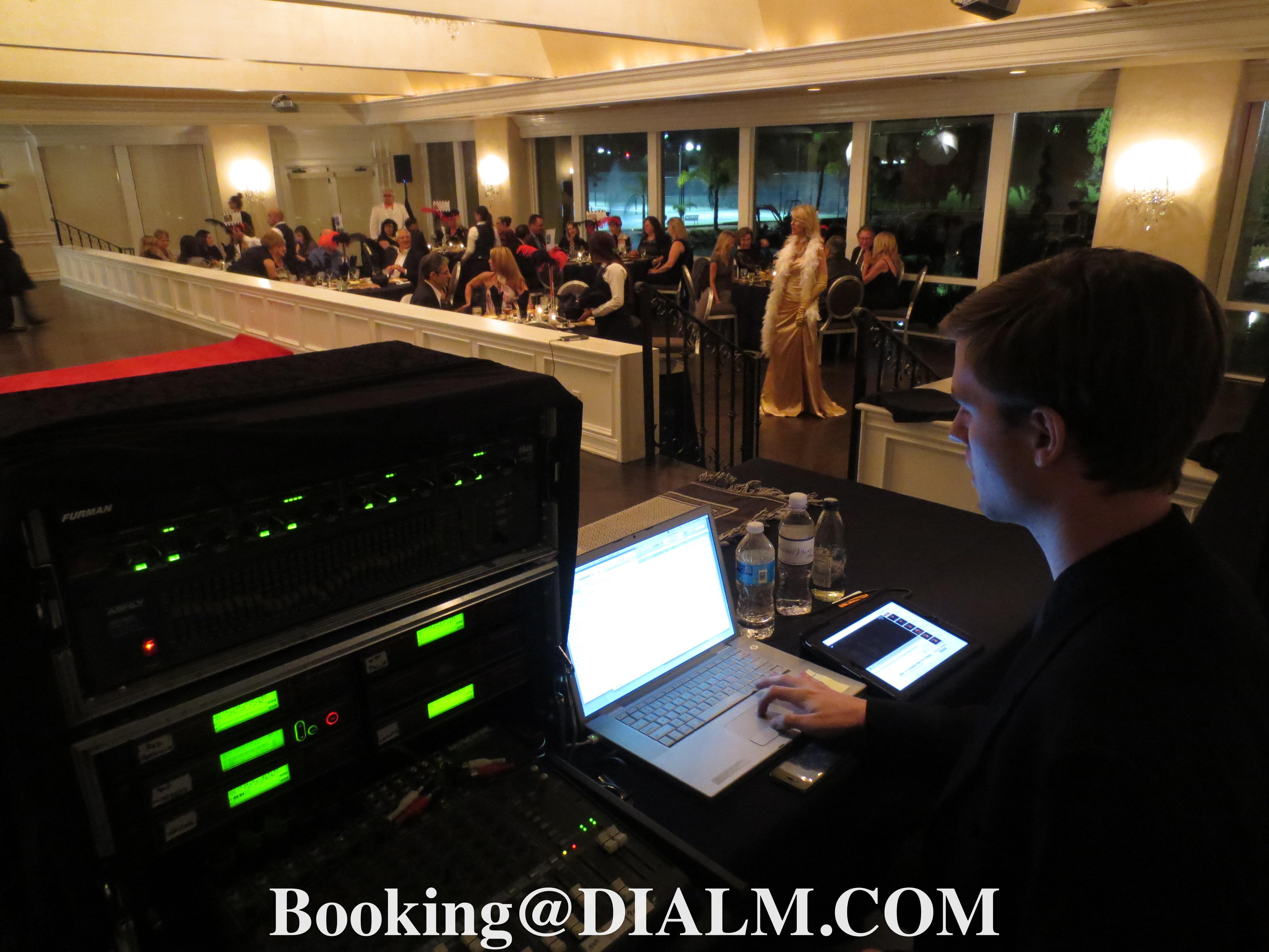 Sound engineer & Michelle Mistress of Murder #DIALM