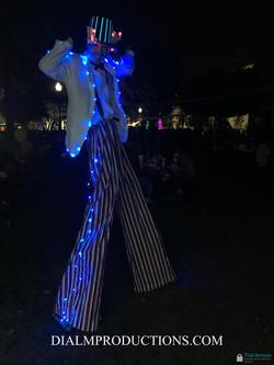 Stilt Walker LED Lights DIALM