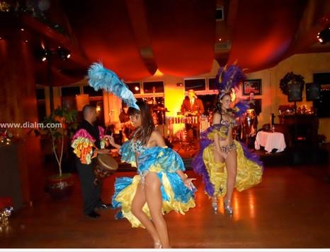Mardi Gras Brazilian Dancers