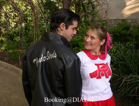 Grease 1950's Theme Party Sandy & Danny