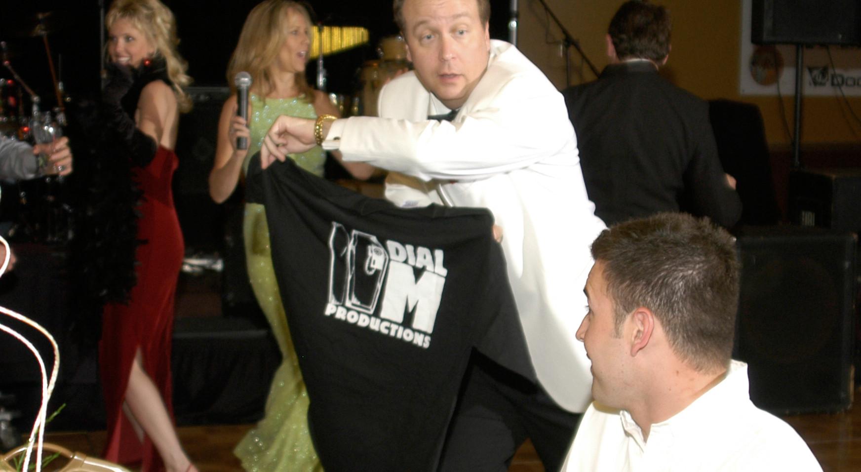Murder Mystery Whodunnit Dial M T-shirt.