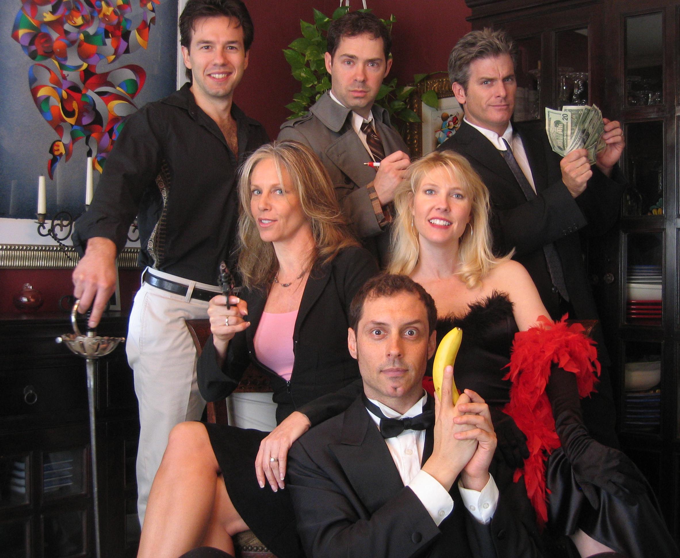 Dial M Murder Mystery Balkans Cast 2006
