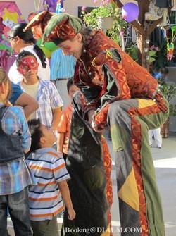Carnival Mardi Gras Stilt Walker #DIALM