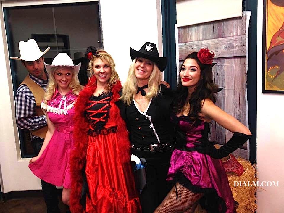 Western Murder Mystery Girls & Peter Kaluf DIALM