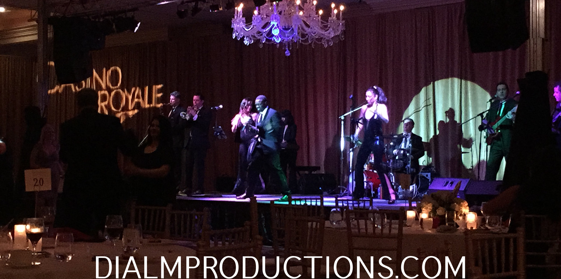 Casino Theme Party Cover Band los angele