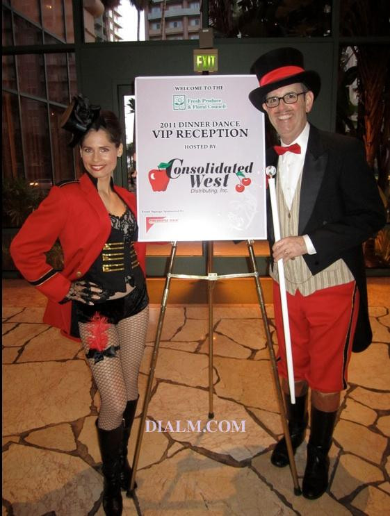 Moulin Rouge Theme Party Hosts