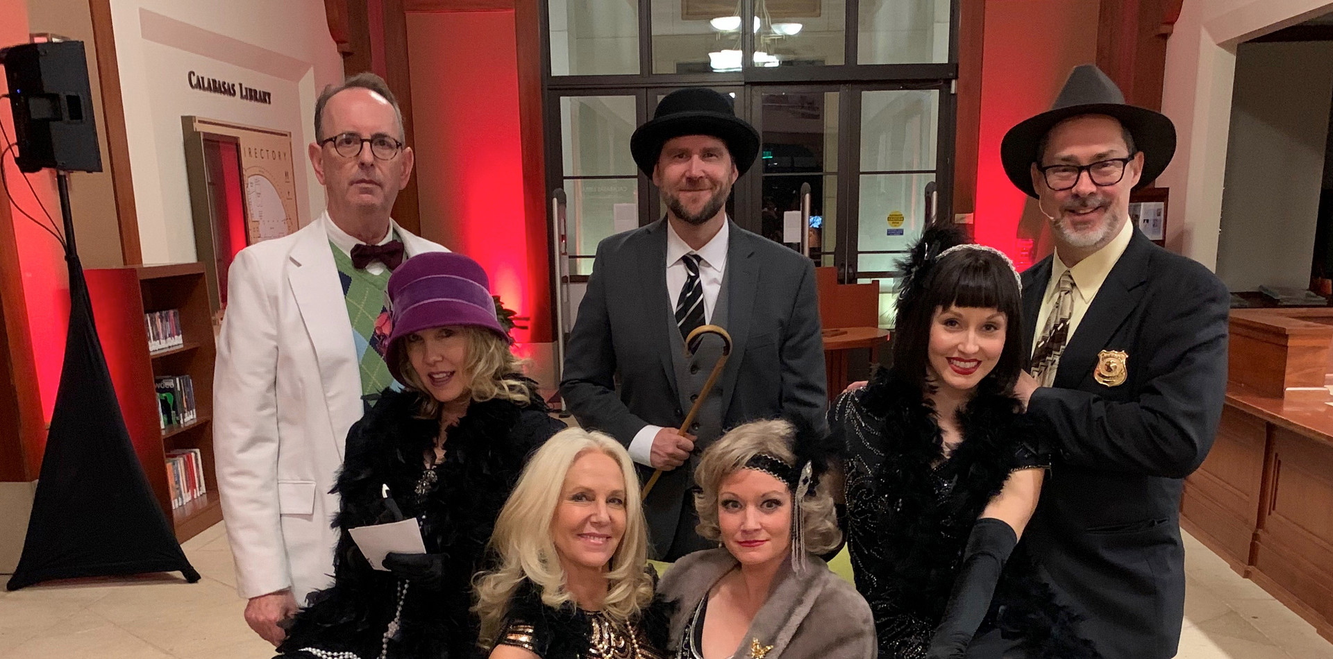 The Cast 2 Cat's Meow Roaring 20s Hollyw