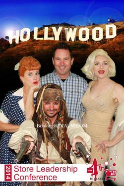 Lucy Captain Jack Sparrow Marilyn