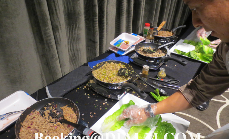 hot plate cooking station and gloves Cul