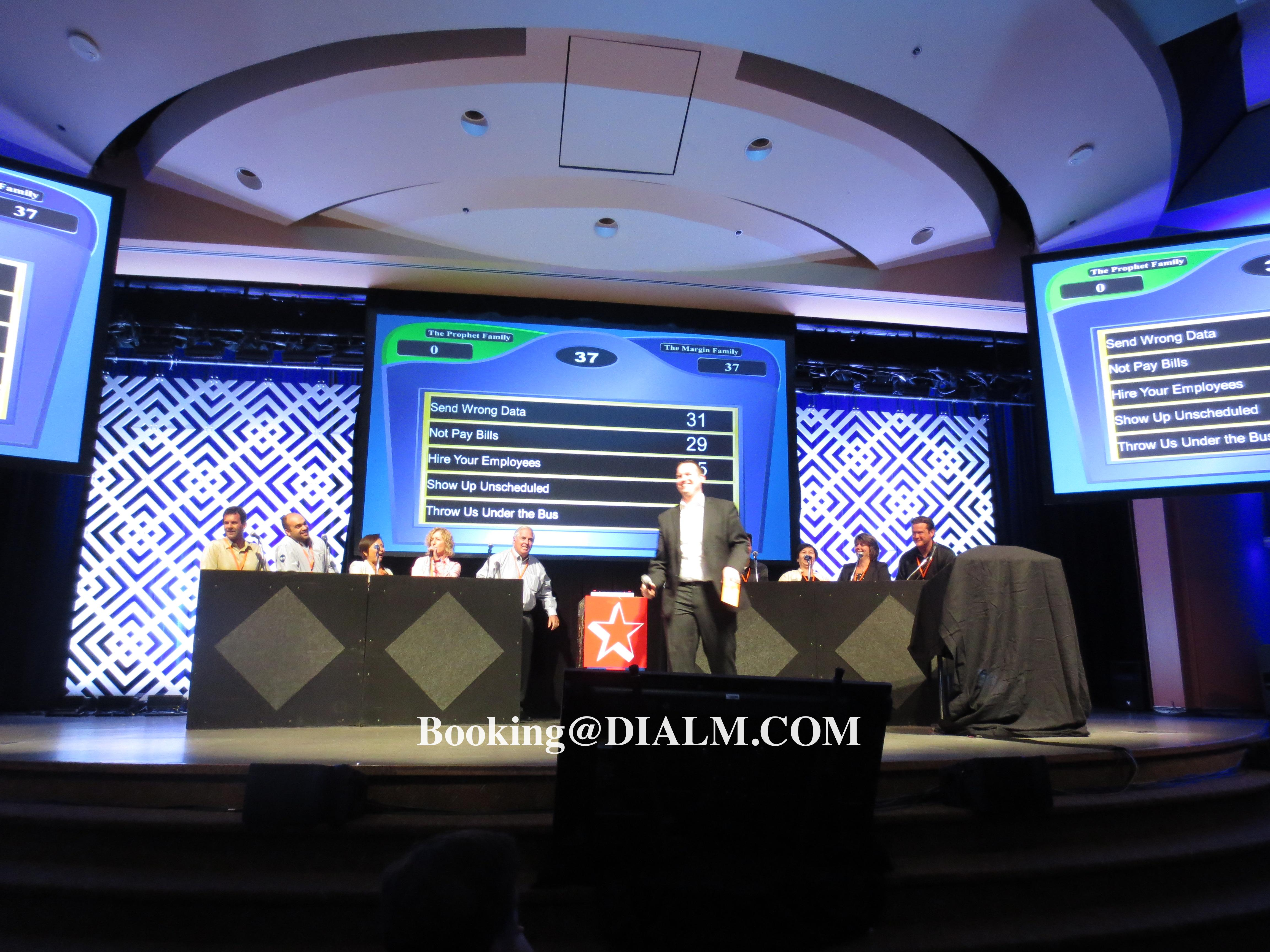 Family Feud Game Show #DIALM #Teambuilding #LosAngeles #EventPlanner