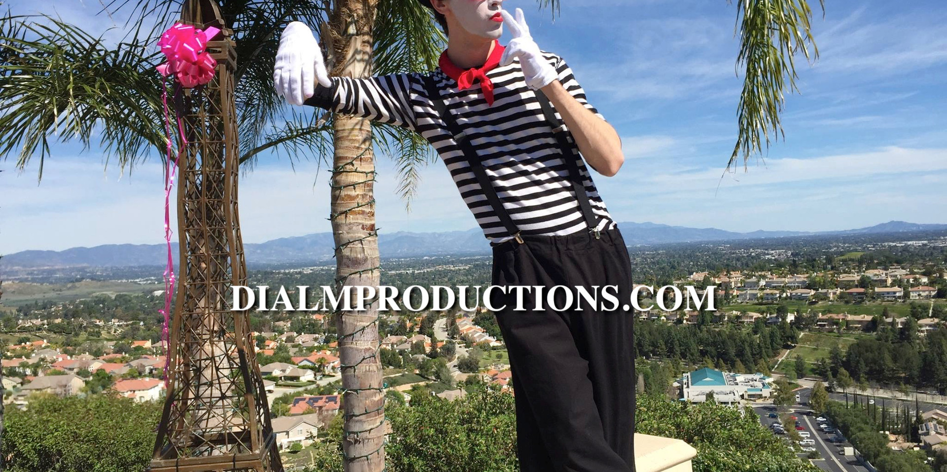 French Mime Moulin Rouge Theme Party Los Angeles Event Planner -
