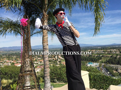 French Mime Los Angeles Event Planner