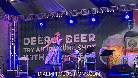 Oktoberfest Kathrin Yodeler Singer Los Angeles
