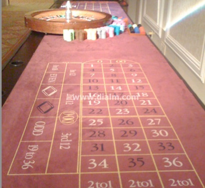 Casino Double Roulette Table 16 ft by di
