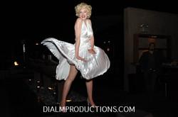 Marilyn Monroe white dress DialM