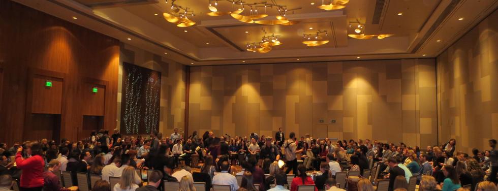 300 Person Team Building Drum Circle