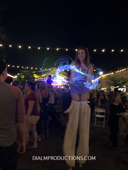 Stilt Walker LED Hula Hoop and Lights Pe