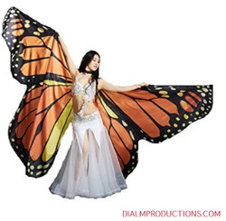 Butterfly Wings Stilt Walker Dial M