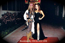 Captain Jack and Angelina