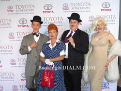 Laurel & Hardy, Lucy, Marilyn Monroe