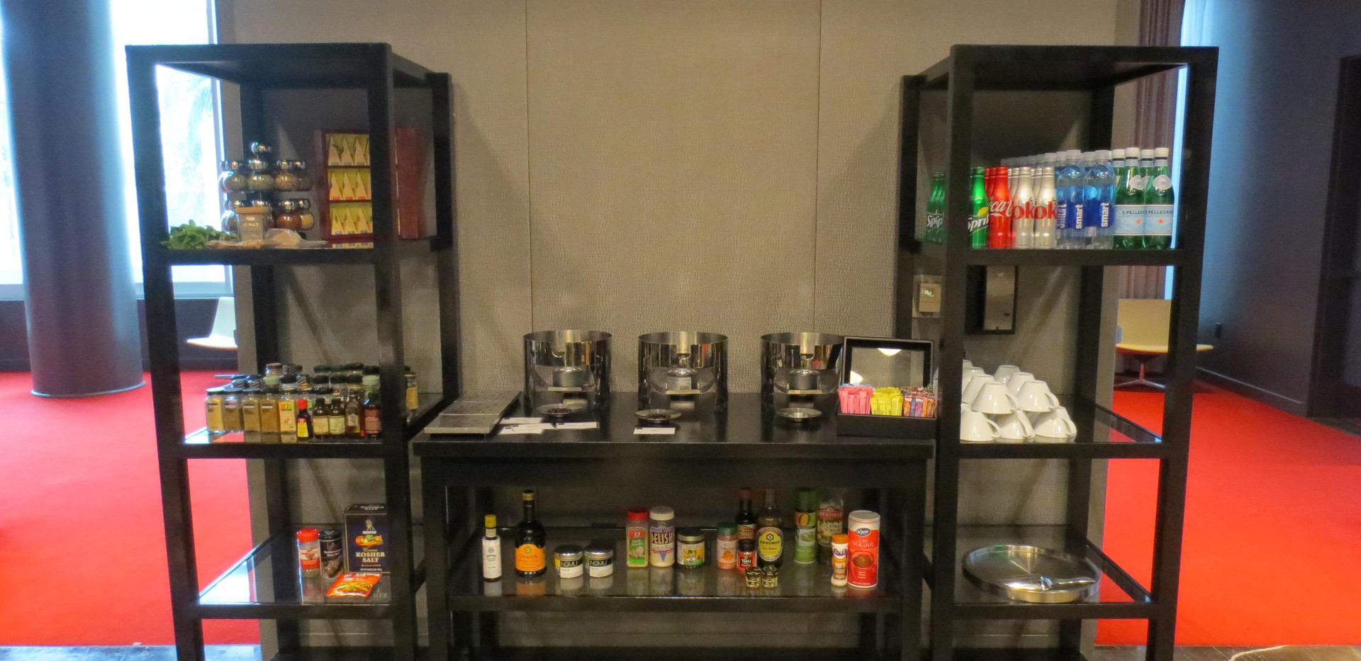 Spice and beverage pantry Culinary Chall