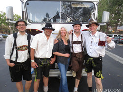 German Oktoberfest Band