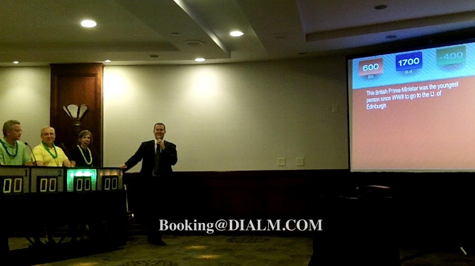 Jeopardy Game Show Trivia Mania Game Projected Team Building Activity Los Angeles Event Planners by