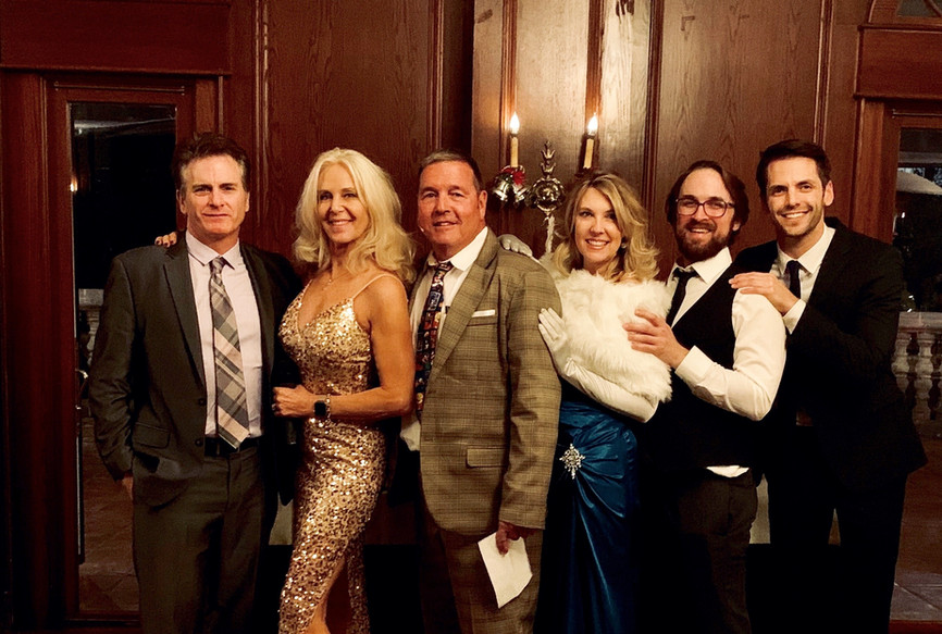 Maggiano's NewYears Eve 2019 The Cast of