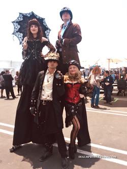 Steampunk Stiltwalkers & Characters by D